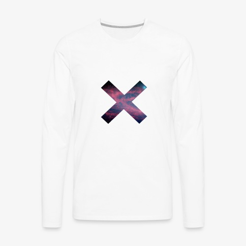 X Tumblr - Men's Premium Long Sleeve T-Shirt