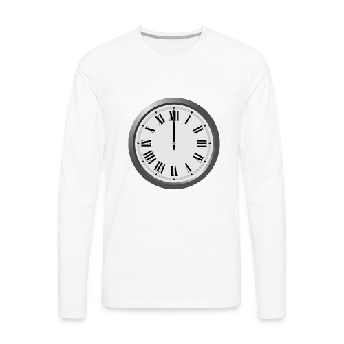 Time Flies When You Watch Team Google Plex - Men's Premium Long Sleeve T-Shirt