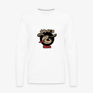 jolly dog store - Men's Premium Long Sleeve T-Shirt