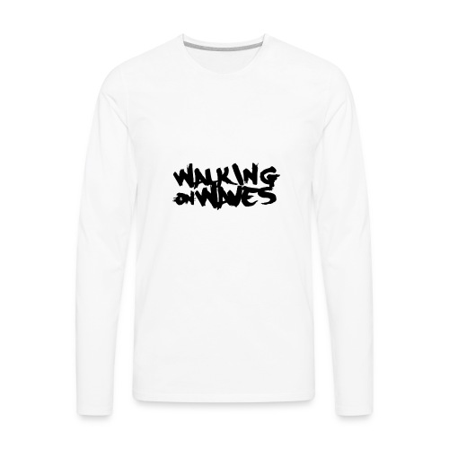 W.O.W black name - Men's Premium Long Sleeve T-Shirt