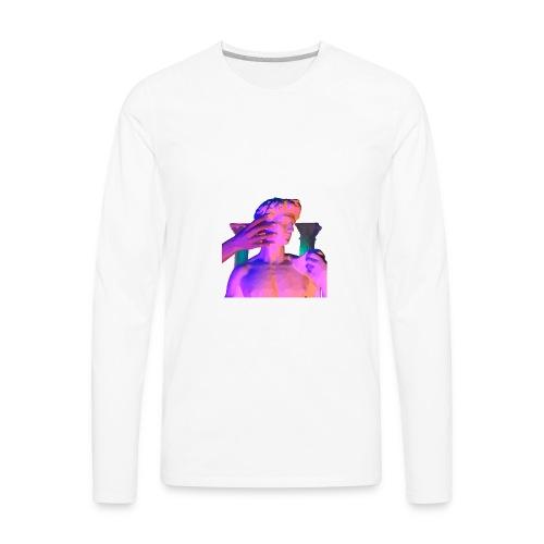 Greek God marcuss - Men's Premium Long Sleeve T-Shirt
