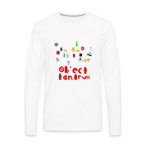 object tantrum cast - Men's Premium Long Sleeve T-Shirt