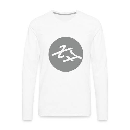 XFrame Logo - Men's Premium Long Sleeve T-Shirt