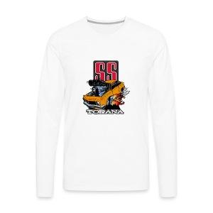 Holden T Shirt Torana LX SS Hatch Colour - Men's Premium Long Sleeve T-Shirt