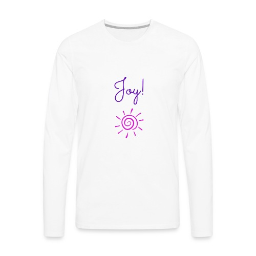 Joy! - Men's Premium Long Sleeve T-Shirt