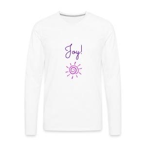 Joy! - Men's Premium Long Sleeve T-Shirt