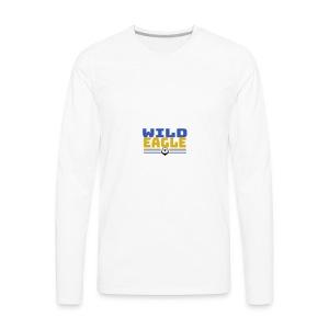 Wild Eagle - Men's Premium Long Sleeve T-Shirt