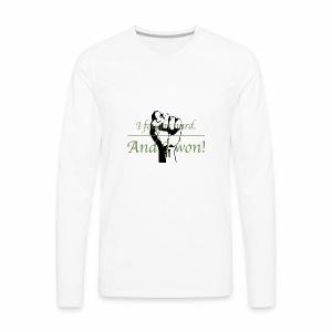 I Won! - Men's Premium Long Sleeve T-Shirt
