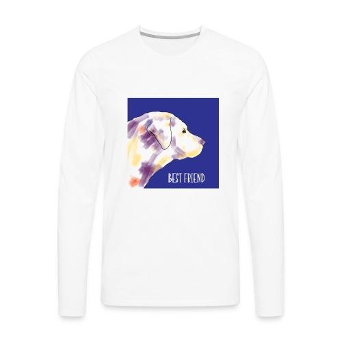 Best friend - Men's Premium Long Sleeve T-Shirt