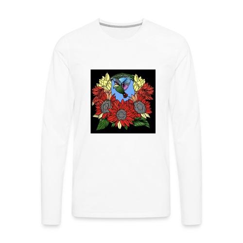 Florals - Men's Premium Long Sleeve T-Shirt