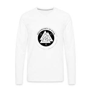 D.O.R WHITE - Men's Premium Long Sleeve T-Shirt