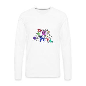 Ideas Plans Action - Men's Premium Long Sleeve T-Shirt