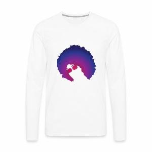 Afro - Men's Premium Long Sleeve T-Shirt