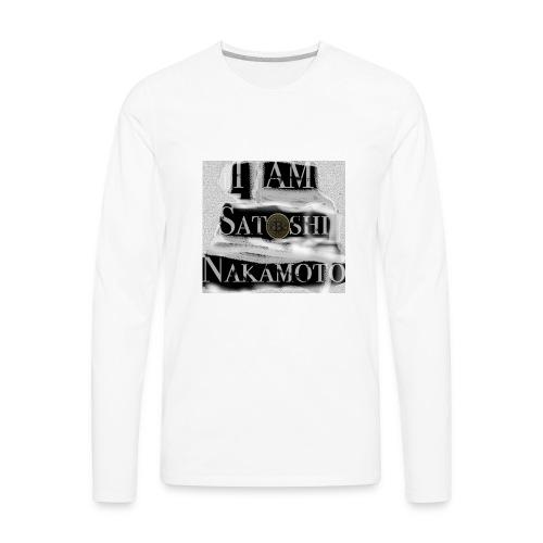 I am Satoshi - Men's Premium Long Sleeve T-Shirt