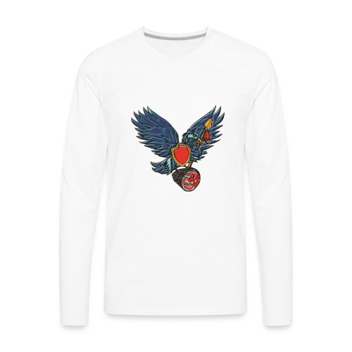 Tweeterham Official LOGO - Men's Premium Long Sleeve T-Shirt