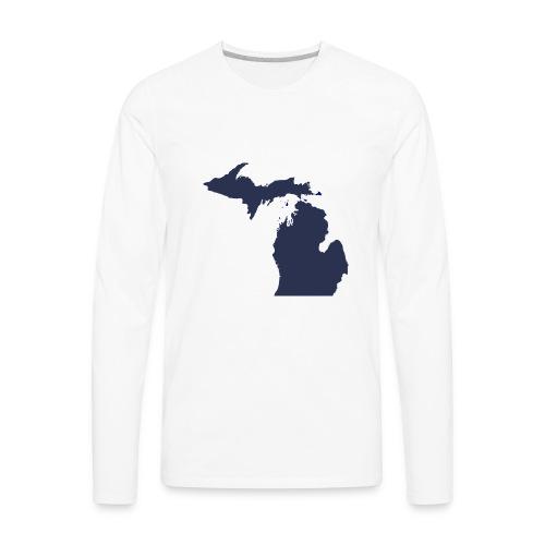 MI Michigan - Men's Premium Long Sleeve T-Shirt