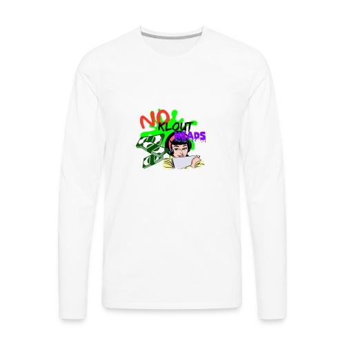 Noklouthead T-shirt - Men's Premium Long Sleeve T-Shirt