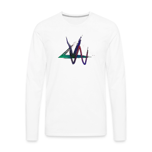 Variance Just the logo - Men's Premium Long Sleeve T-Shirt