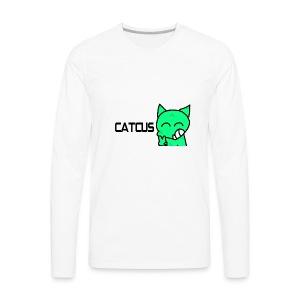 Catcus - Men's Premium Long Sleeve T-Shirt