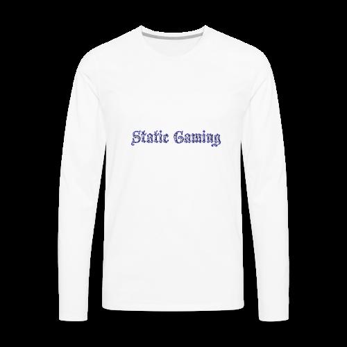 Diamond Static Gaming - Men's Premium Long Sleeve T-Shirt