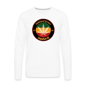 Oakland Grown Cannabis 420 Wear - Men's Premium Long Sleeve T-Shirt