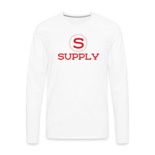 Supply Gear - Men's Premium Long Sleeve T-Shirt