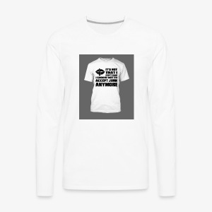 junk - Men's Premium Long Sleeve T-Shirt