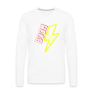 BOOM - Men's Premium Long Sleeve T-Shirt