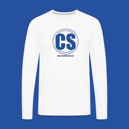 CS360Studio Logo - Men's Premium Long Sleeve T-Shirt