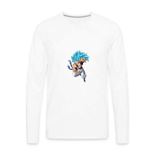 ssj3gogetablue - Men's Premium Long Sleeve T-Shirt