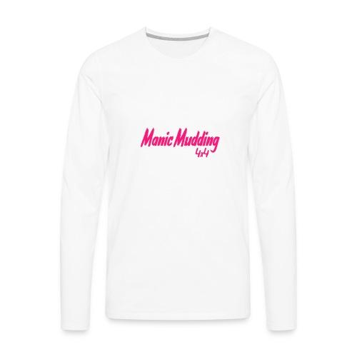 manic pink - Men's Premium Long Sleeve T-Shirt