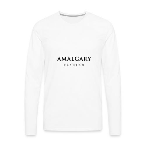 AMG FASHION - Men's Premium Long Sleeve T-Shirt