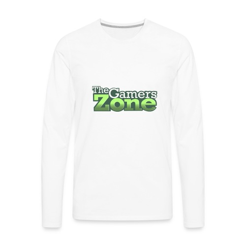 THE GAMERS ZONE - Men's Premium Long Sleeve T-Shirt