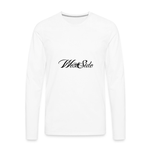 spreadshirtlogoblack - Men's Premium Long Sleeve T-Shirt