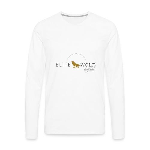 higher res logo - Men's Premium Long Sleeve T-Shirt