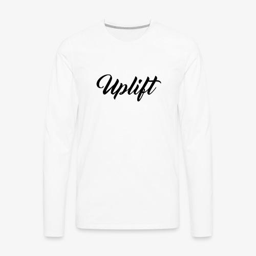 Uplift Basic // - Men's Premium Long Sleeve T-Shirt