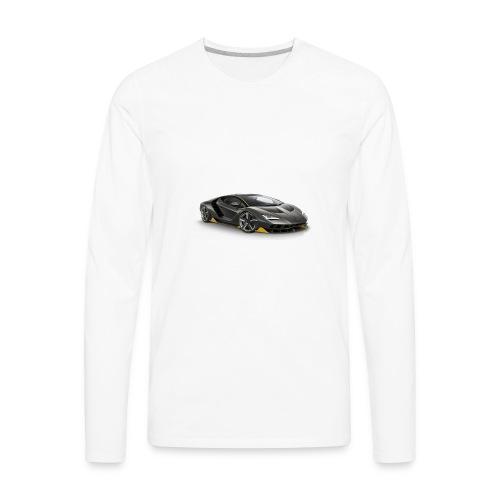 lambo shirts. - Men's Premium Long Sleeve T-Shirt