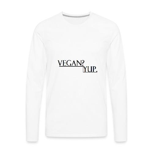 how - Men's Premium Long Sleeve T-Shirt