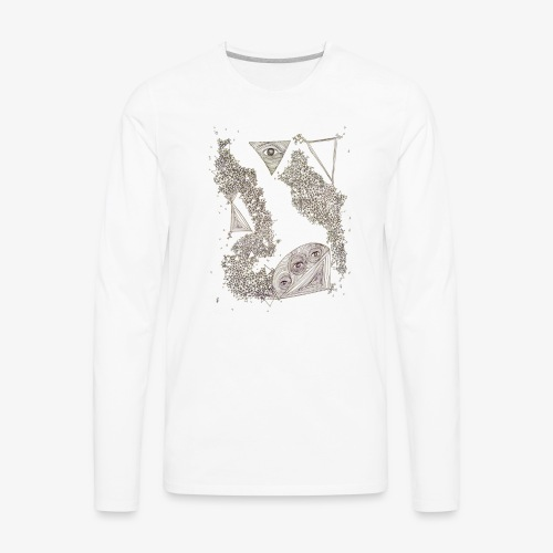 Ojos Claros - Men's Premium Long Sleeve T-Shirt