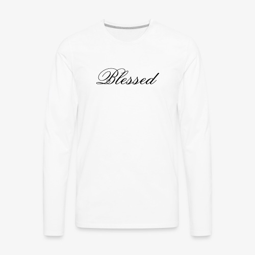 Blessed tshirt - Men's Premium Long Sleeve T-Shirt
