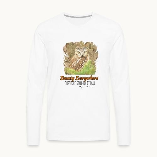Beauty Everywhere -ORANGE- Carolyn Sandstrom - Men's Premium Long Sleeve T-Shirt