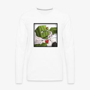 MrFlubby logo - Men's Premium Long Sleeve T-Shirt
