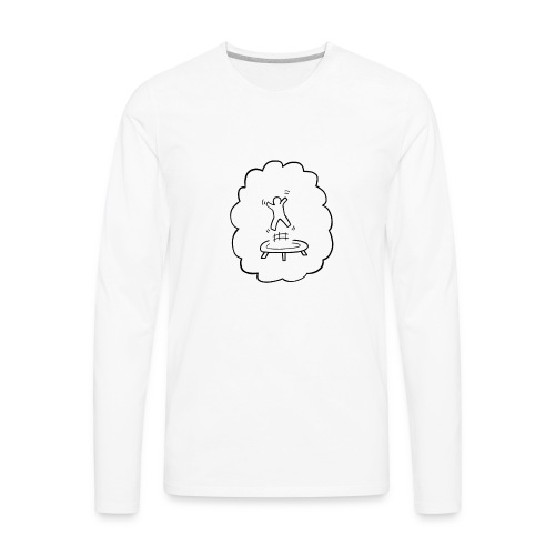 Trampoline Guy - Men's Premium Long Sleeve T-Shirt