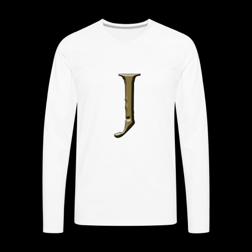 J - Men's Premium Long Sleeve T-Shirt