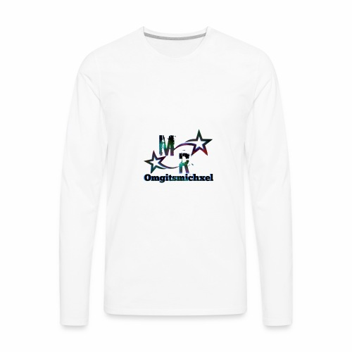 Omgitsmichxel Official Merch - Men's Premium Long Sleeve T-Shirt