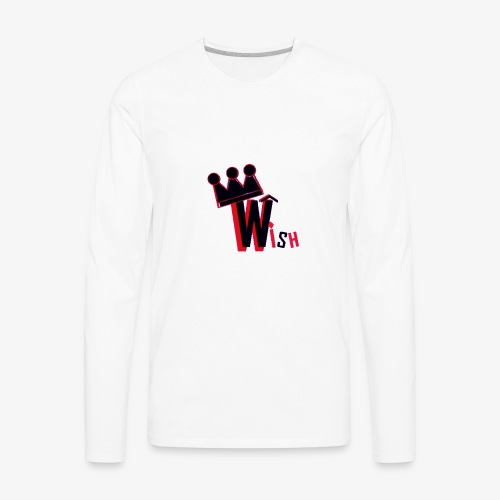 Wish Clan Logo - Men's Premium Long Sleeve T-Shirt