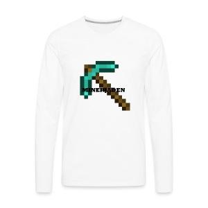 Offical MinerJaden - Men's Premium Long Sleeve T-Shirt
