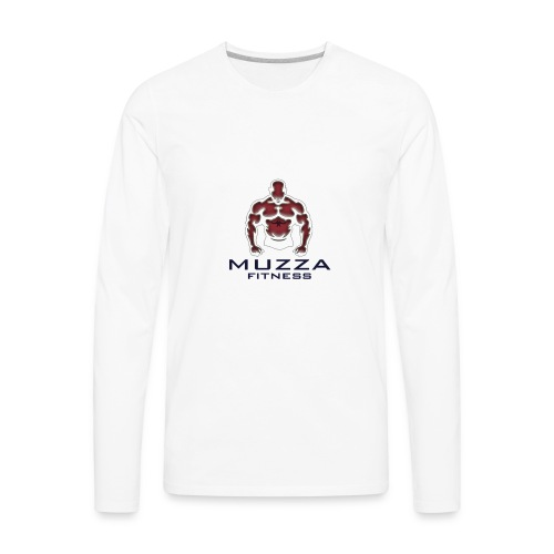 Muzza Fitness - Men's Premium Long Sleeve T-Shirt