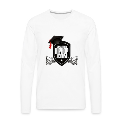 Official Smarterhiphop Merch - Men's Premium Long Sleeve T-Shirt
