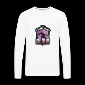 GUARD ME SHIRT LOGO - Men's Premium Long Sleeve T-Shirt